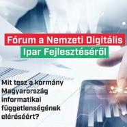 Digitális Jólét Fórum – Nemzeti digitális ipar fejlesztése